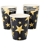 Gold Star Hot/Cold Cups (8/pkg)