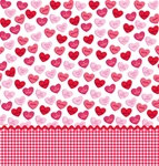 Valentine Sweet Greetings Plastic Tablecover