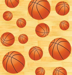Basketball Party Tablecover