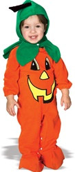 Infant Pumpkin Costume (6 to 12 Mo.)