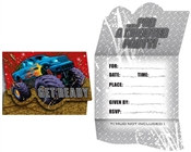 Monster Truck Party Invitations (8/pkg)