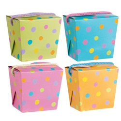 Party Favor Pastel Pint Pail