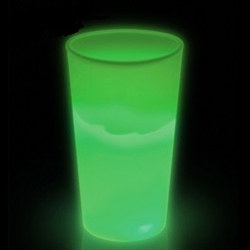 Green Glow Light Up Cup (12 oz)