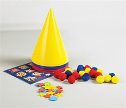 Decorate-Your-Own Clown Hats (6/pkg)
