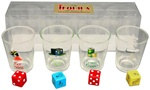 Tequila Lover's Shot Glass Set Game