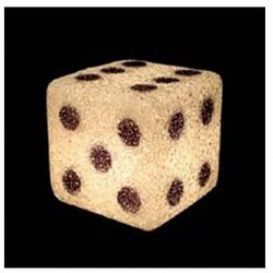 Dice Lamp, 6in