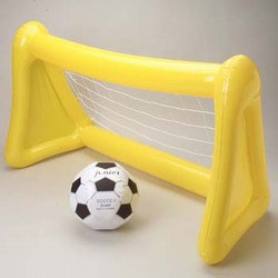 Inflatable Soccer Goal w/Ball, Size: 48 Inches Width x 27 Inches