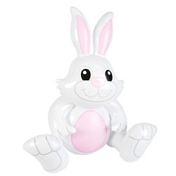 Sitting Inflatable Bunny, 40 inches