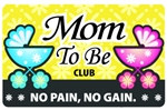 Mom To Be Club Plastic Pocket Card (1/Pkg)