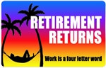 Retirement Returns Plastic Pocket Card (1/Pkg)