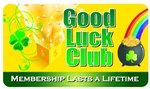 Good Luck Club Plastic Pocket Card (1/Pkg)