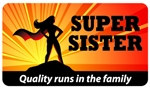 Super Sister Plastic Pocket Card (1/Pkg)