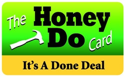 The Honey Do Plastic Pocket Card (1/Pkg)