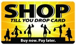 Shop Til You Drop Plastic Pocket Card (1/Pkg)