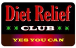 Diet Relief Club Plastic Pocket Card (1/Pkg)