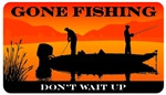 Gone Fishing Plastic Pocket Card (1/Pkg)