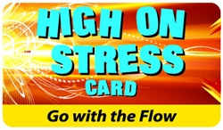High On Stress Plastic Pocket Card (1/Pkg)