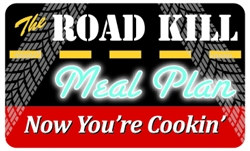 The Road Kill Meal Plan Plastic Pocket Card (1/Pkg)