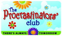 The Procrastinators' Club Plastic Pocket Card (1/Pkg)