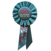 World's Best Wife Rosette Ribbon