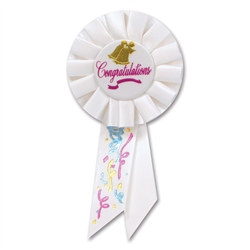 Wedding Bell Rosette Ribbon