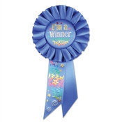 I'm A Winner Rosette Ribbon