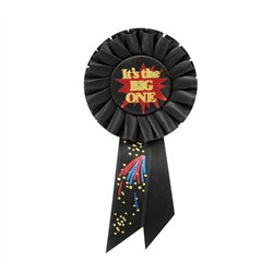 It's The Big One Rosette Ribbon