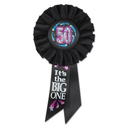 50 It's The Big One Rosette Ribbon