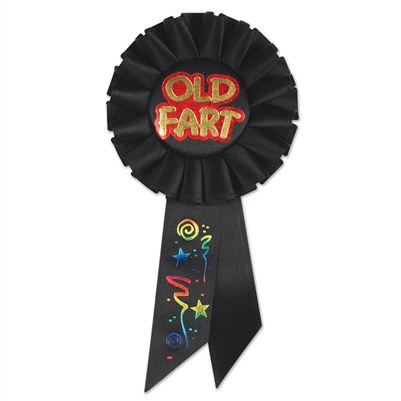 Old Fart Rosette Ribbon