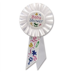 Baby Shower Rosette Ribbon