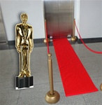 Hollywood Statuette Life Size Cutout
