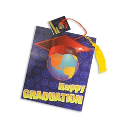 Happy Graduation Tassel Gift Tote