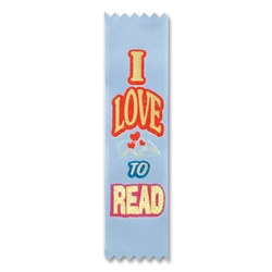 I Love To Read Value Pack Ribbons (10/Pkg)