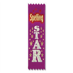 Spelling Star Value Pack Ribbons (10/Pkg)