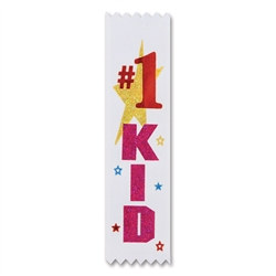 #1 Kid Value Pack Ribbons (10/Pkg)