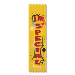 I'm Special Pre-School Grad Value Pack Ribbons (10/Pkg)