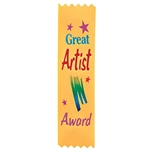 Great Artist Value Pack Ribbons (10/Pkg)