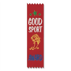Good Sport Award Value Pack Ribbons (10/Pkg)