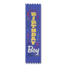 Birthday Boy Value Pack Ribbons (10/Pkg)