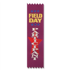 Field Day Participation Value Pack Ribbons (10/Pkg)