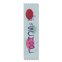 My First Day in School Value Pack Ribbons (10/Pkg)