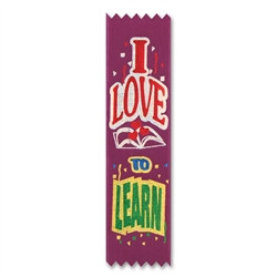 I Love to Learn Value Pack Ribbons (10/Pkg)