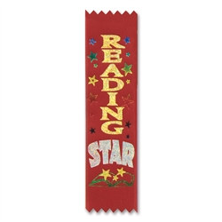 Reading Star Value Pack Ribbons (10/Pkg)