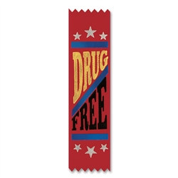 Drug Free Value Pack Ribbons (10/Pkg)