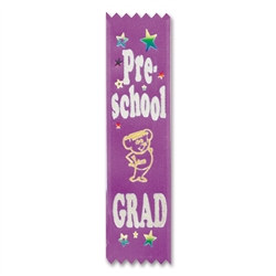 Pre-School Grad Value Pack Ribbons (10/Pkg)
