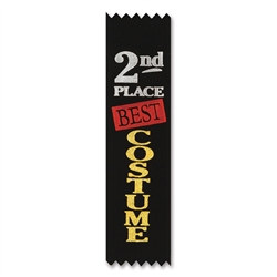 2nd Place Best Costume Value Pack Ribbons (10/Pkg)