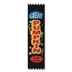 Great Pumpkin Value Pack Ribbons (10/Pkg)