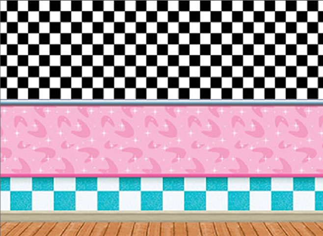 ... 50's soda shop insta-theme, 50's backdrops & props - partycheap