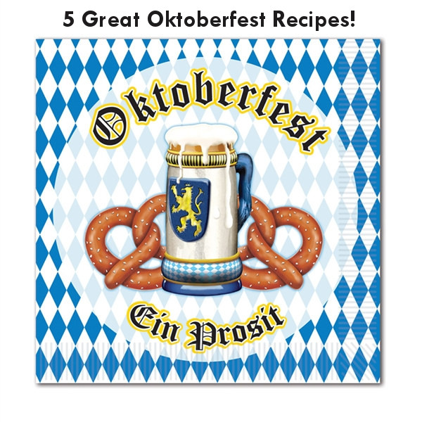 5 great Oktoberfest Recipes from PartyCHeap