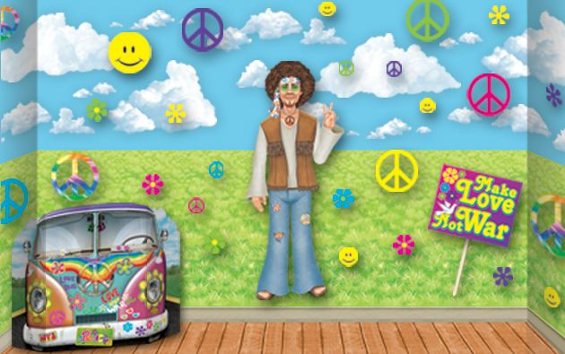 60s hippie backdrops backgrounds